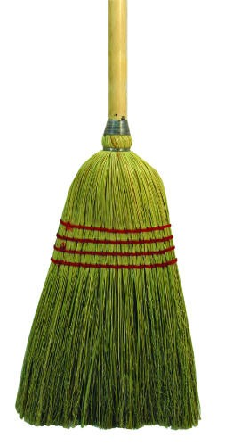 Maid Broom, Mixed Fiber Bristles, 42