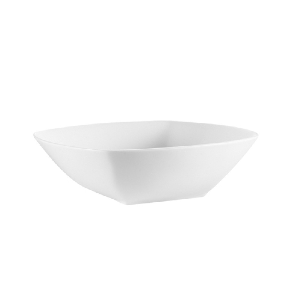 CAC China MAJ-B9 Majesty Bone China Square Bowl 38 oz.