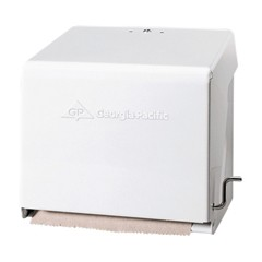 Mark II Crank Roll Towel Dispenser, 10 3/4 x 8 1/2 x 10 3/5, White