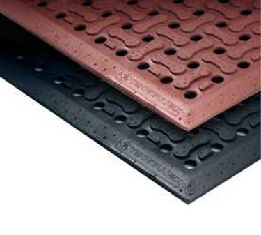 "Franklin Machine Products  280-1473 Mat, Floor (3""X5"", Superflo, Blk)"