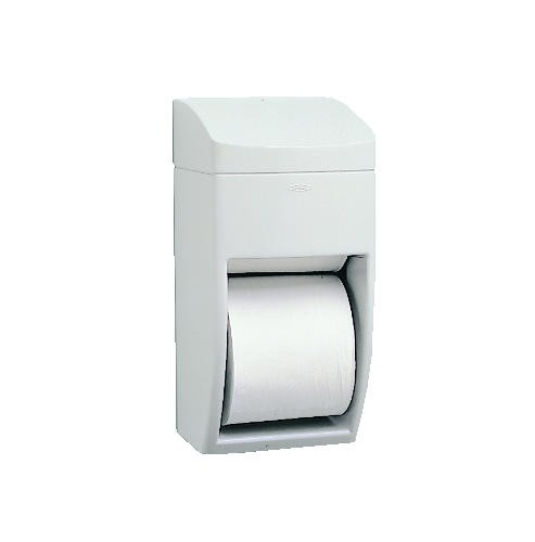 Matrix Multi-Roll Toliet Tissue Dispenser, Holds Two 5-3/4 Rolls