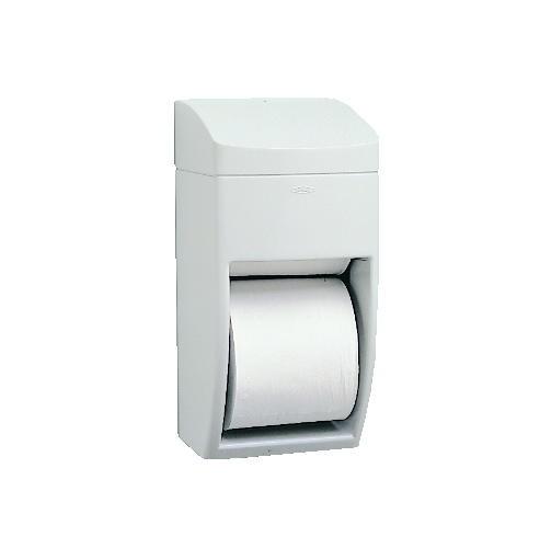 Matrix Multi-Roll Toliet Tissue Dispenser, Holds Two 5-3/4 Rolls