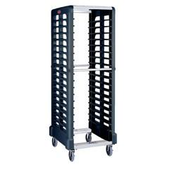 Max System Rack, 175-lb Cap., 23 3/4w x 28 3/4d x 67 7/8h, Black