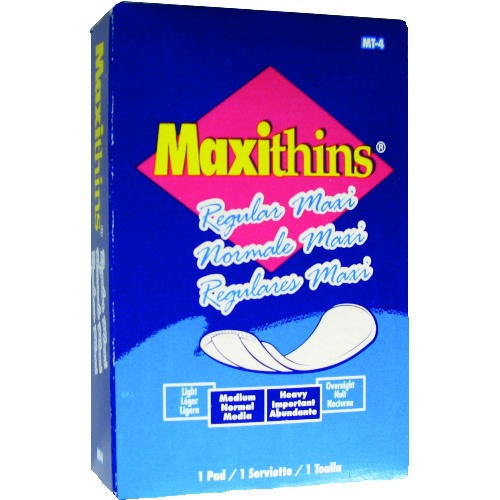 Maxi-thin Folded Pads