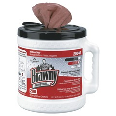 Md Brawny Dispenserbucket Pack 2/200