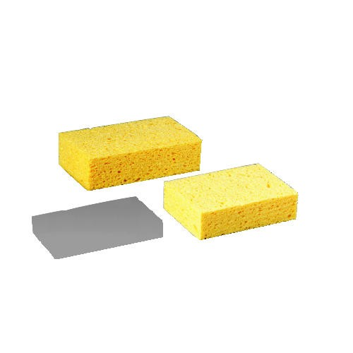Medium Cellulose Sponge, 3 2/3 x 6 2/25 in, 1 11/20