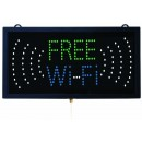 Aarco Products FRE11M High Visibility LED Free Wi-Fi Sign