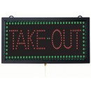 Aarco Products TAK12M High Visibility LED Take Out Sign