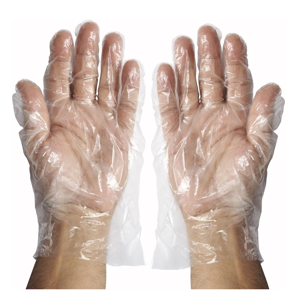 Medium Textured Polyethylene Disposable Gloves (500 pieces per box)