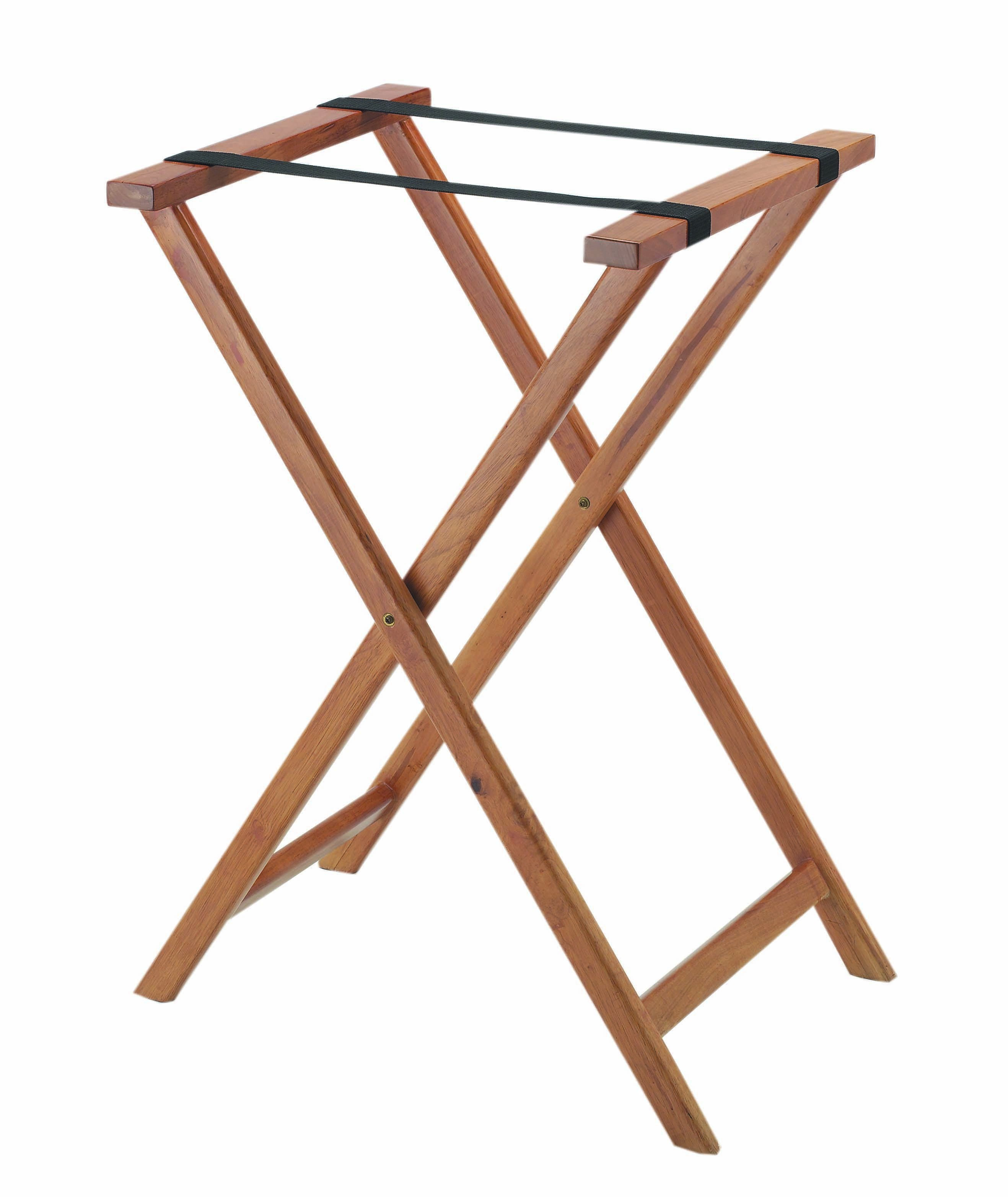 Aarco Products TS-2 Medium Wood Tray Stand