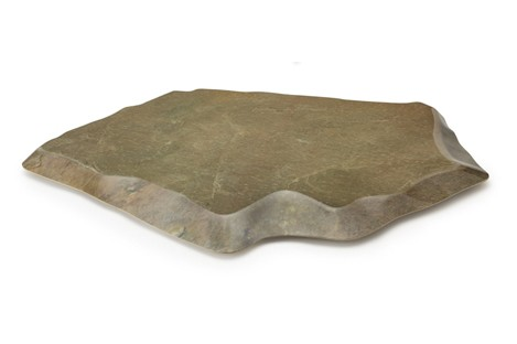 "G.E.T. Enterprises ML-284-SLATE Stone-Mel Melamine Display 25-1/2"" x 20-1/2"""