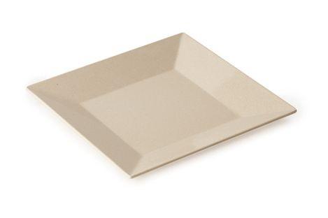 """G.E.T. Enterprises BAM-1104 BambooMel 10"""" Square Plate"""