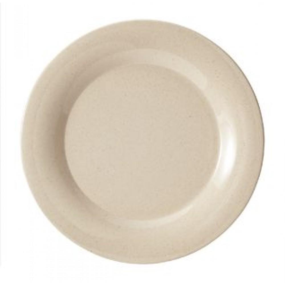 """G.E.T. Enterprises BAM-1010 BambooMel 10-1/2"""" Wide Rim Plate"""
