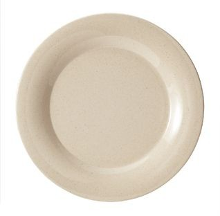 """G.E.T. Enterprises BAM-1012 BambooMel 12"""" Wide Rim Plate"""