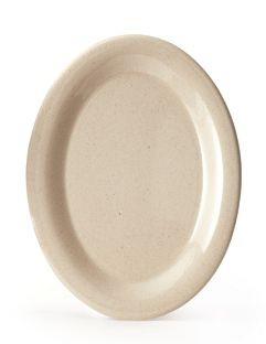 """G.E.T. Enterprises BAM-1201 BambooMel 12"""" x 9"""" Oval Platter"""