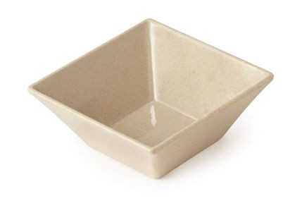 G.E.T. Enterprises BAM-1238 BambooMel 14 oz. Square Bowl