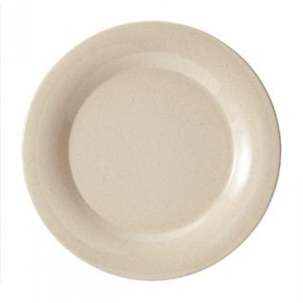 """G.E.T. Enterprises BAM-1005 BambooMel 5-1/2"""" Wide Rim Plate"""