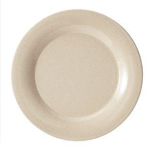 """G.E.T. Enterprises BAM-1006 BambooMel 6-1/2"""" Wide Rim Plate"""