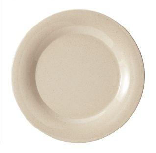 """G.E.T. Enterprises BAM-1007 BambooMel 7-1/2"""" Wide Rim Plate"""