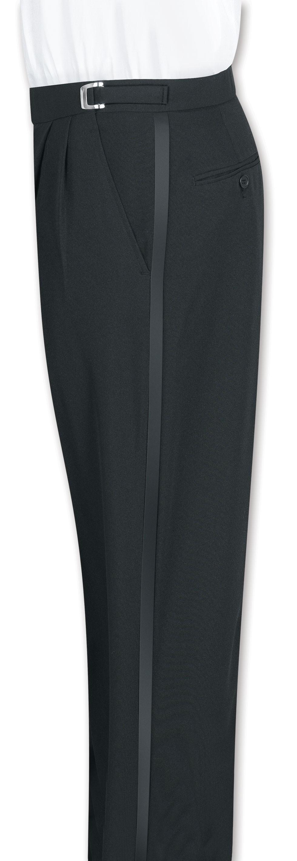 Henry Segal 9311 Men's Double-Pleated Front Adjustable-Waist Pants