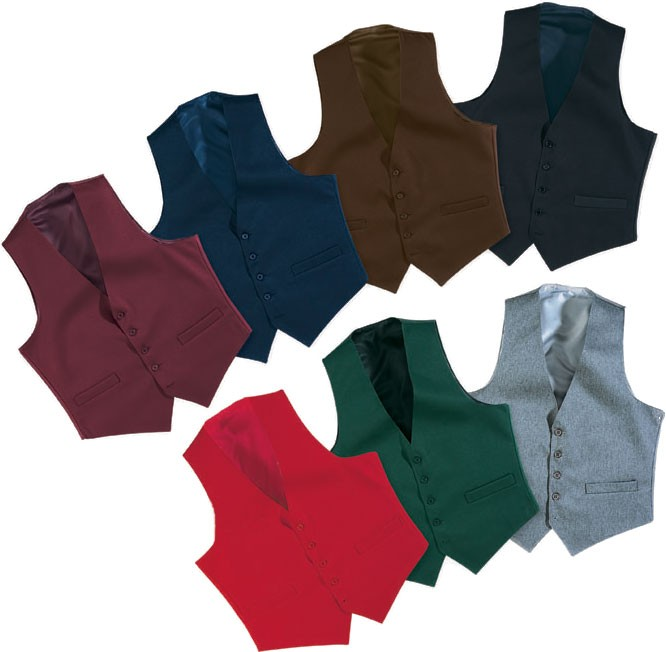 Men's Full Back Vest (Burgundy/Cherry Red/Hunter Green/Grey/Navy)