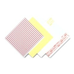 Menu Tissue Untreated Paper Sheets, 12 x 12, White