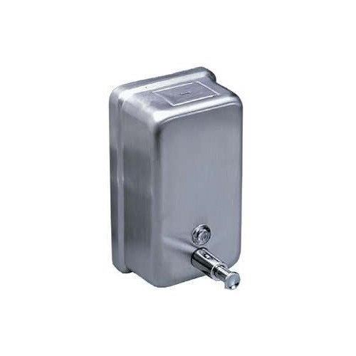 Metal Liquid Soap Dispenser, 40 Oz Vertical