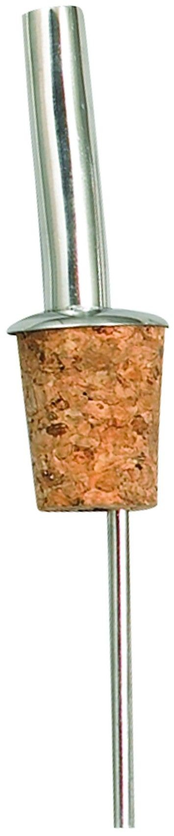 Winco PPM-5J Liquor Pourer with Jet Spout and Natural Cork