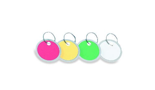 Metal-Rim Key Tags