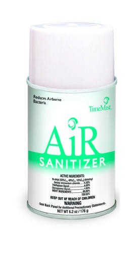 Metered Air Sanitizer, 6.2 Oz, Aerosol