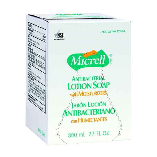 Antibacterial Lotion Soap Bag-in-Box, 800 ml