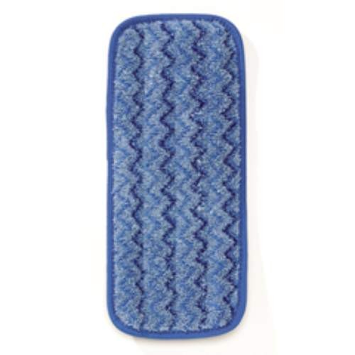 Microfiber Wall/Stair Wet Mopping Pad, Blue