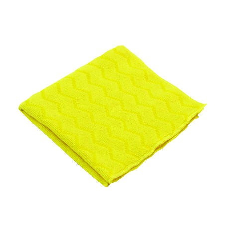 Microfiber Bathroom Cleaning Cloth, 16 X 16, Yellow