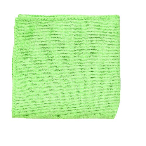 Microfiber Cleaning Cloth, 12 X 12, Green
