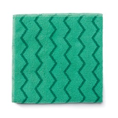 Microfiber Cleaning Cloths, 16w x 16l, Green