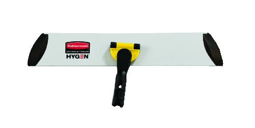 Hygen Quick Connect S-S Frame, Wet/Dry Mop, Aluminum, Yellow
