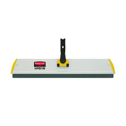 Hygen Quick Connect S-S Frame, Squeegee, Aluminum, Yellow