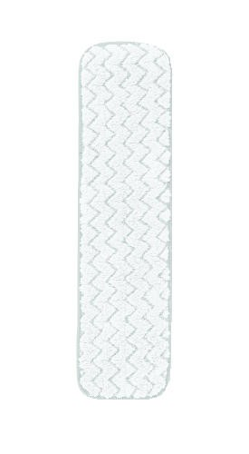 Microfiber Room Dust Mopping Pad, 18 X 5, White