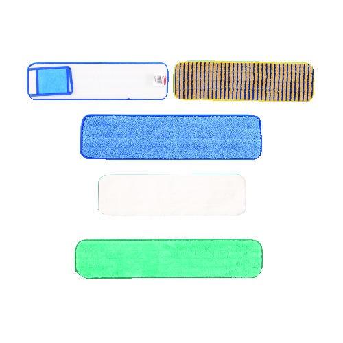 Microfiber Scrubbing Pad, 18 X 5, Yellow & Blue