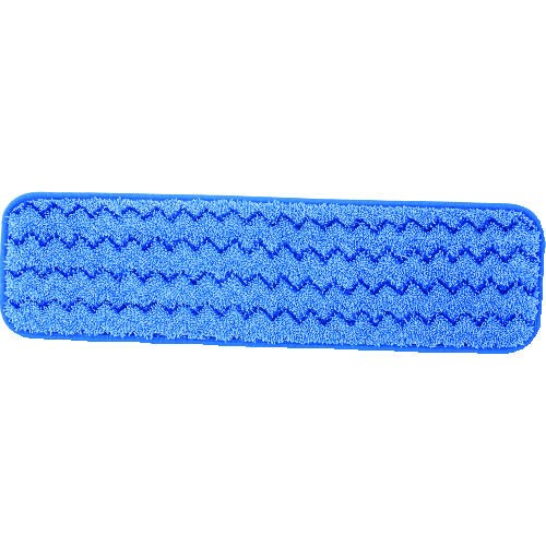 Microfiber Wet Pad, 18 X 5, Blue