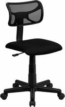 Flash Furniture BT-6138-1-BK-GG Mid-Back Black Mesh Task Chair