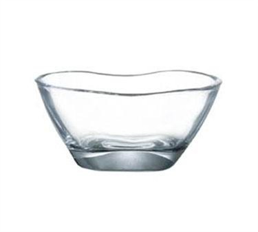 "Cardinal S2053 Audace 27 oz. Glass Square Bowl, 7"" Dia."