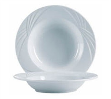 Mikasa Grandes Tables Horizon 14 Oz. Rim Soup/Pasta Bowl - 9-1/4
