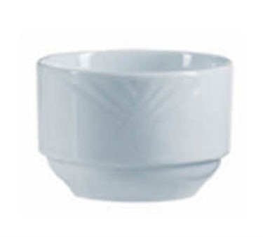 Mikasa Grandes Tables Horizon 9 Oz. Stackable Bouillon/Open Sugar Cup - 3-3/4