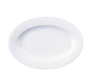 "Cardinal S0660 Arcoroc Horizon Oval Platter, 12-1/8"" x 8-5/8"""