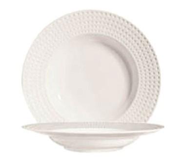 """Cardinal S0407 Chef & Sommelier Satinique 11 oz. Rim Soup/Pasta Bowl, 9-5/8"""" Dia."""