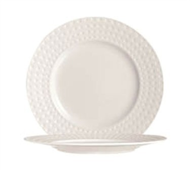 "Cardinal S0403 Chef & Sommelier Satinique Brunch Plate 9-3/4"" Dia."