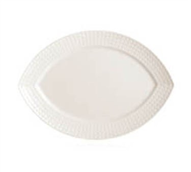 "Cardinal S0460 Chef & Sommelier Satinique Oval Platter, 13"" x 9-5/8"""