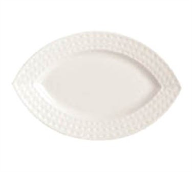 """Cardinal S0465 Chef & Sommelier Satinique Oval Tray, 9"""" x 5-7/8"""""""