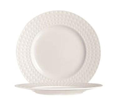 "Cardinal S0404 Chef & Sommelier Satinique Salad/Dessert Plate 8-3/8"" Dia."